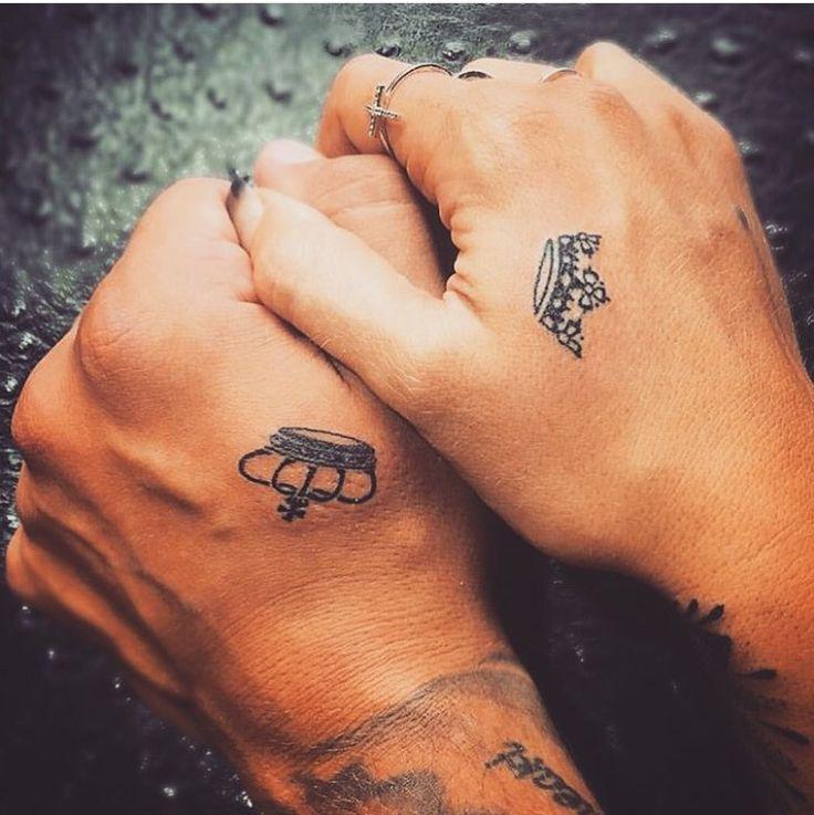 356 beste afbeeldingen over mandala tattoos op pinterest for Matching king and queen tattoos