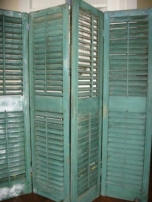 Find  Shutters....Paint them....Instant Card Display...would also make a really cute room divider!