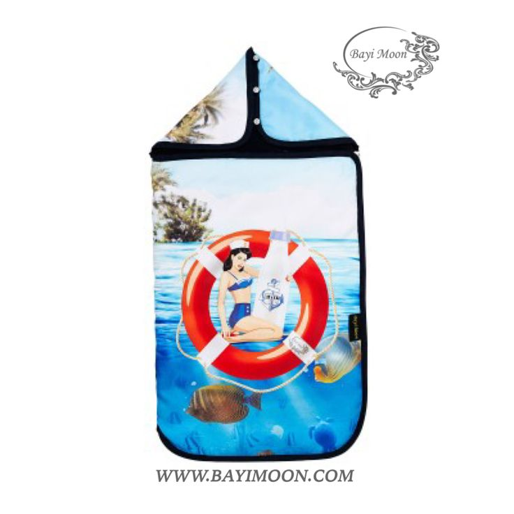 SAILOR GIRL Cosy Cover is a universal footmuff designed for the portable car seat, stroller, travel cot or playpen