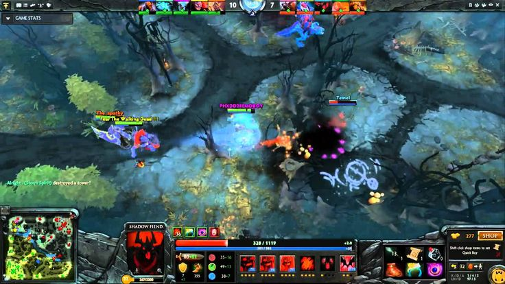 Dota2 Live Stream - Radiant Vs Dire (19.09.2015)