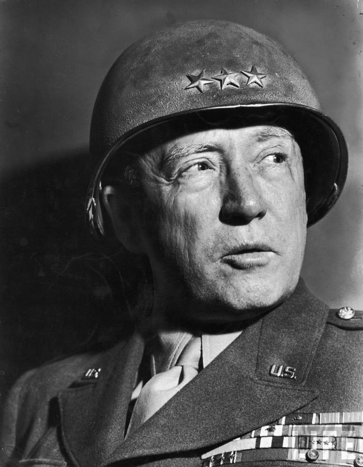 G George Patton General Patton suggested pointing the gin bottle in the general direction of Italy.