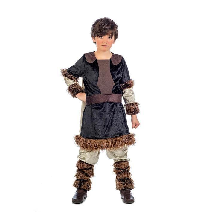 Disfraz de campesino vikingo para niño