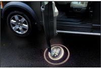 Kit éclairage de courtoisie de bas de portes avec logo LAND ROVER