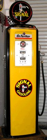 Something about old gas pumps