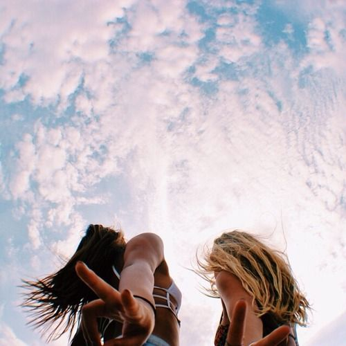friends // sky // summer // photography