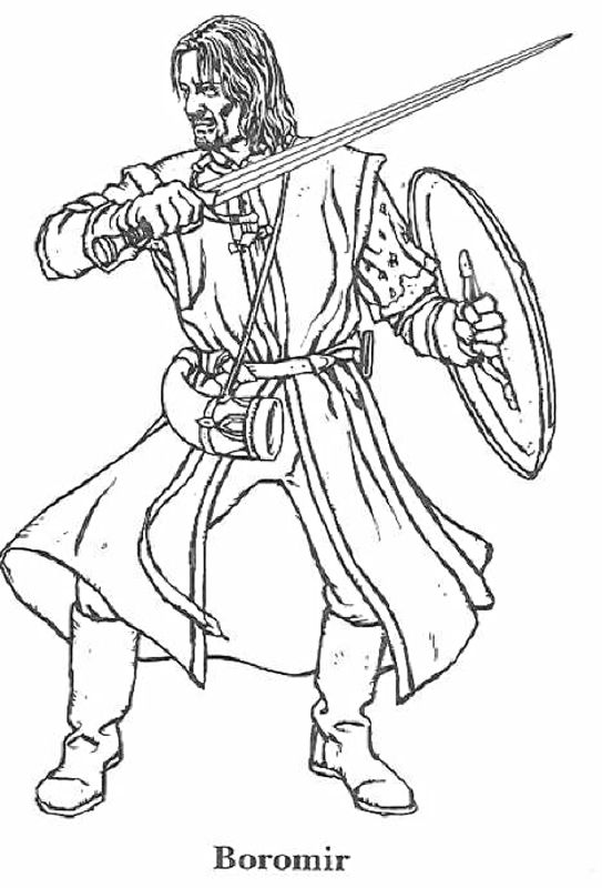 Lord Of The Rings Coloring Pages 9