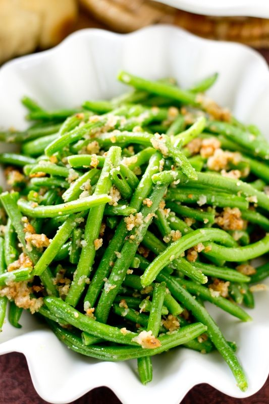 The simplest most delicious way to eat green beans these for Green italy