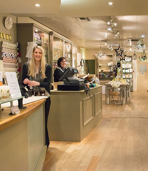 Our lovely ladies at the Harrogate Store!