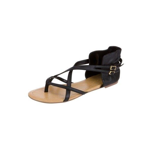 Charlotte Russe - Ruffle Cuff Flats ($17) ❤ liked on Polyvore featuring shoes, flats, charlotte russe, flat heel shoes, flat shoes, flat pumps, charlotte russe shoes and charlotte russe flats
