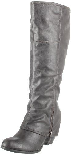 Grey Boots Women - Cr Boot