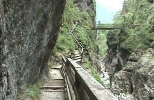 Bridge over the Lammerklamm