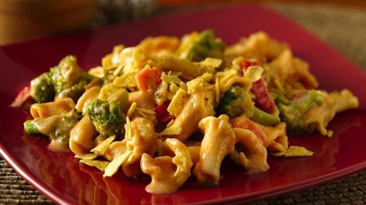 Give traditional Mac and Cheese a Mexican twist! This easy recipe is delicious and comes to the table in 30 minutes.
