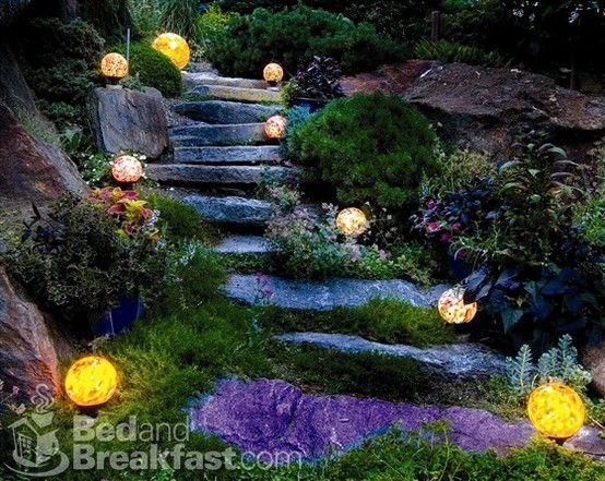 Garden path lights