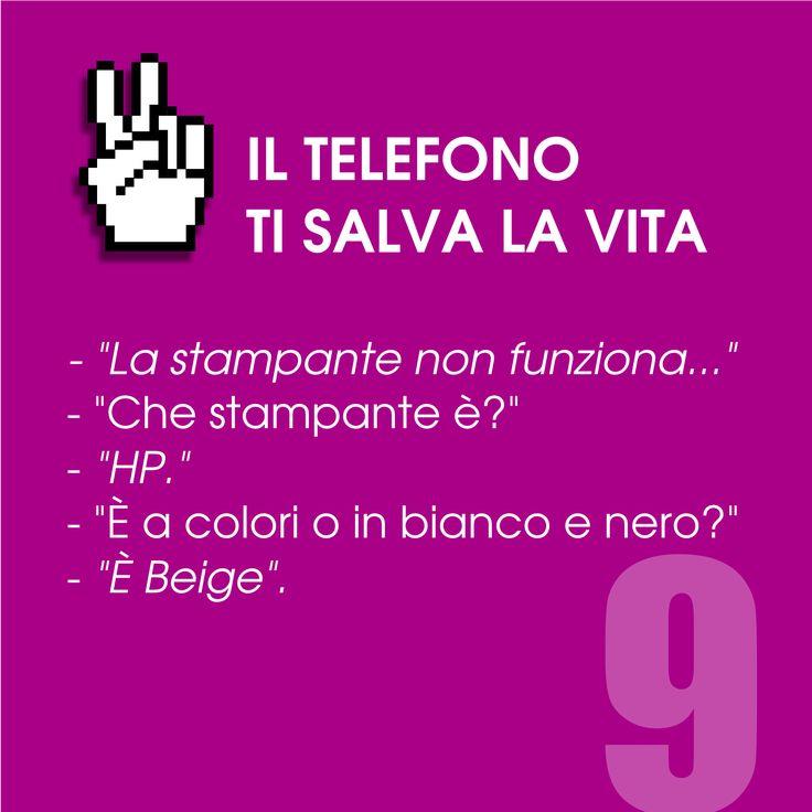 Il telefono ti salva la vita n. 9