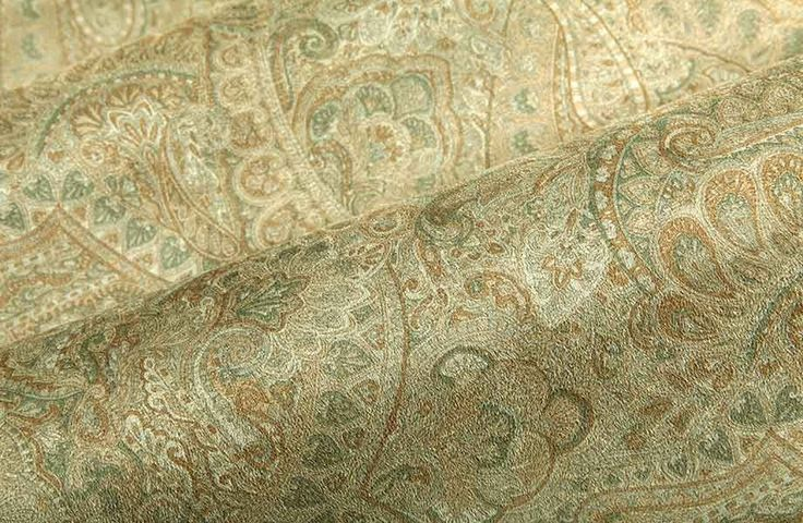 Suede Upholstery Fabric >> Passat Suede Upholstery Fabric in Army Green is a paisley printed neutral that has a soft ...