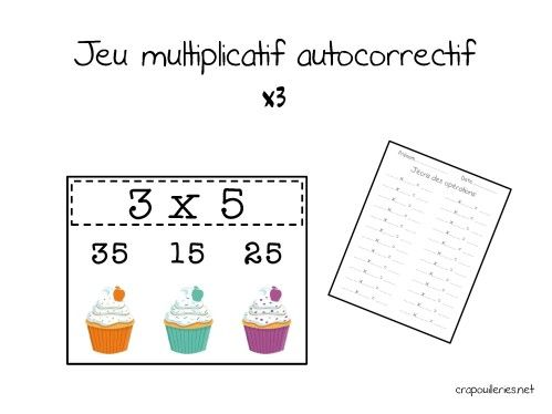 17 best images about maths cp on pinterest interactive cards tables and number bonds - Jeu table de multiplication ce1 ...