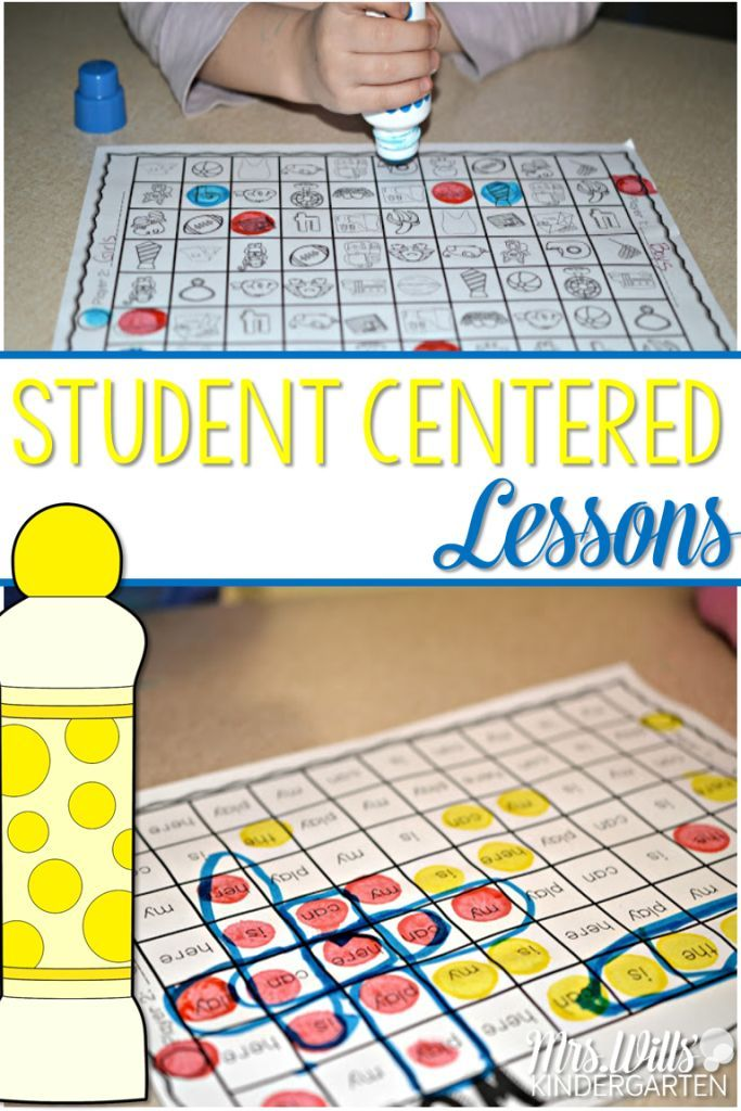 Student Centered Lessons: Looking for ways to help all of your students get on the same page with learning their letters? Here are a few printable kindergarten letter lessons to help!