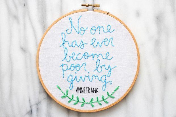 8 besten Embroidery Bilder auf Pinterest   Häkeln, Stickrahmen und ...