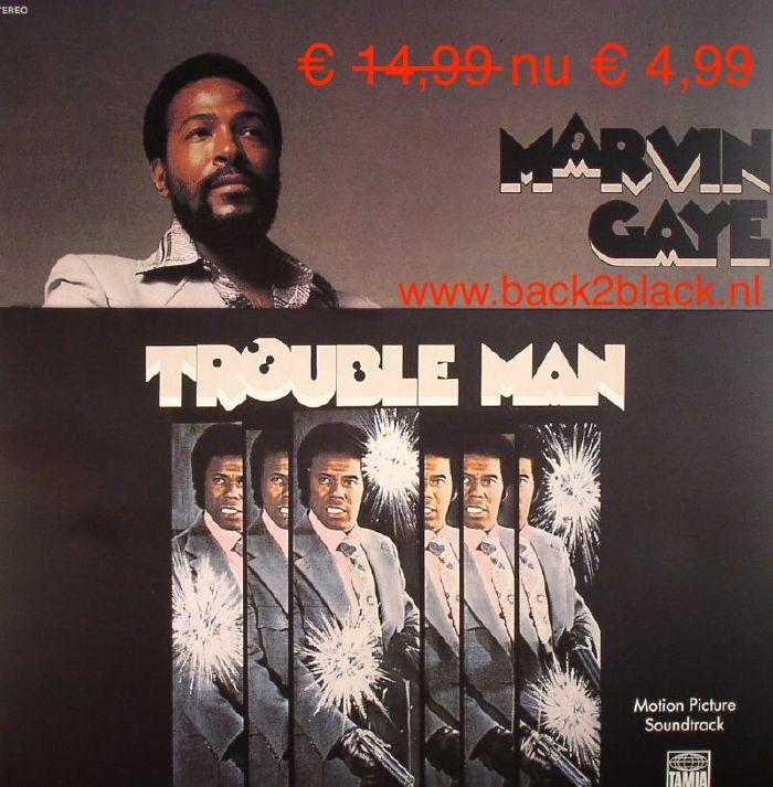 Marvin Gaye O S T Trouble Man 180 Gr Nieuw Vinyl Marvin Gaye Vinyl Lps