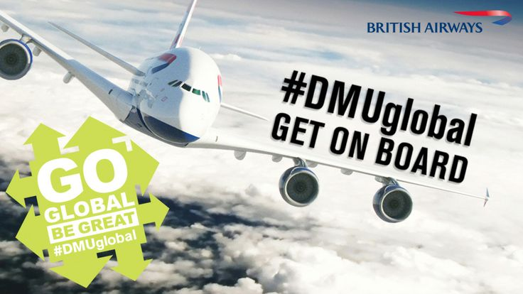 Get on board! #DMUglobal