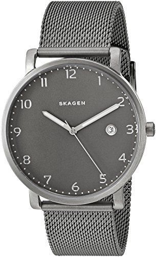 how to change date on skagen watch
