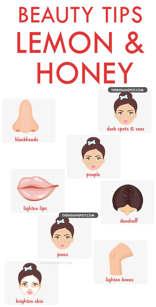 10 best beauty tips using Lemon and honey