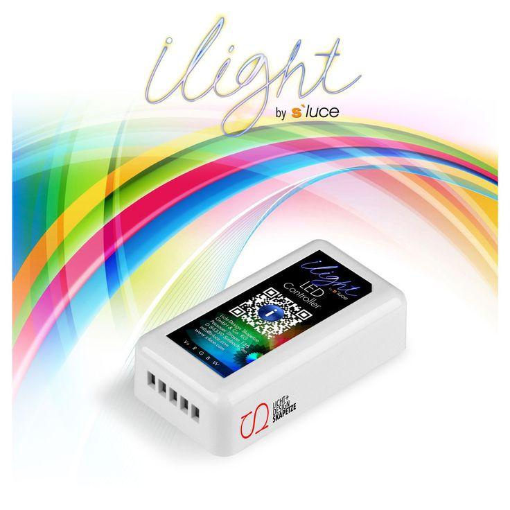 SKAPETZE -    iLight / RGBW LED-Strips Controller, WiFi Steuerung Innenleuchten LED-Strips Trafos & Zubehör