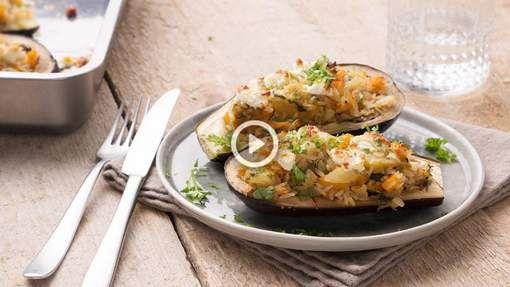 Na de gevulde courgettes, de gevulde aubergines! Een smakelijk vegetarisch recept waar je eigenlijk meteen aan zou willen beginnen. De combinatie met ...