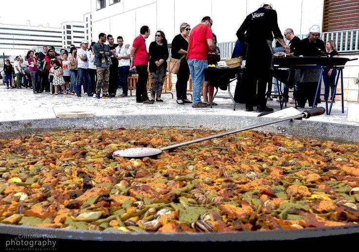 No podía faltar una buena paella en el 1º aniversario de la Casa Ronald McDonald de Valencia