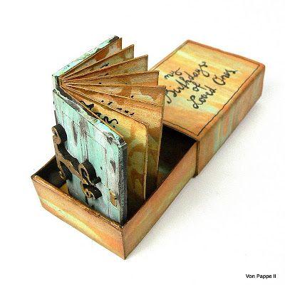 Calico Craft Parts: Mini Book in a Box - by Claudia