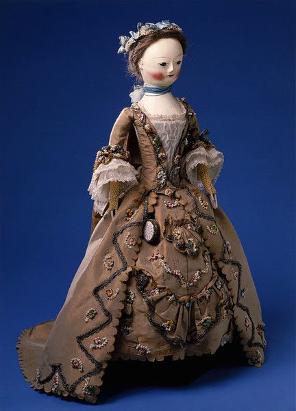 Fashion doll with accessories        Place of origin:        England, Great Britain (made)      Date:        1755-1760 (made)