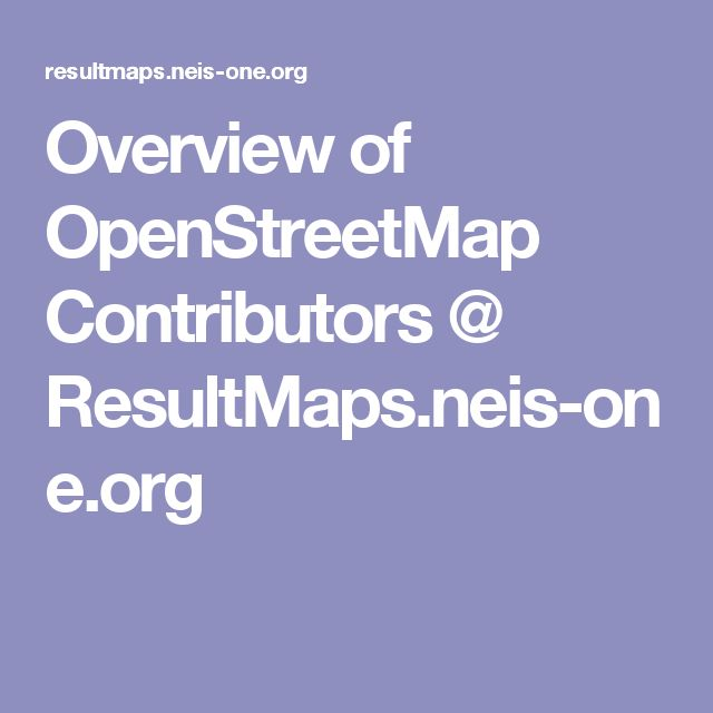 26 best OpenStreetMap images on Pinterest | People, Alternative and ...