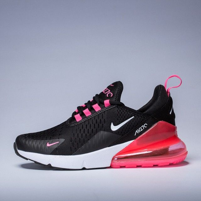 Women S Nike Air Max 270 Black Pink Purple White Girls Running Shoes Nike003894 Nike Air Max Sneakers Nike Air Max Girls Running Shoes