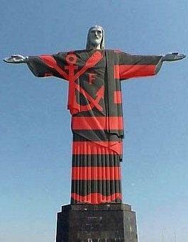 Até o Cristo é Flamengista!