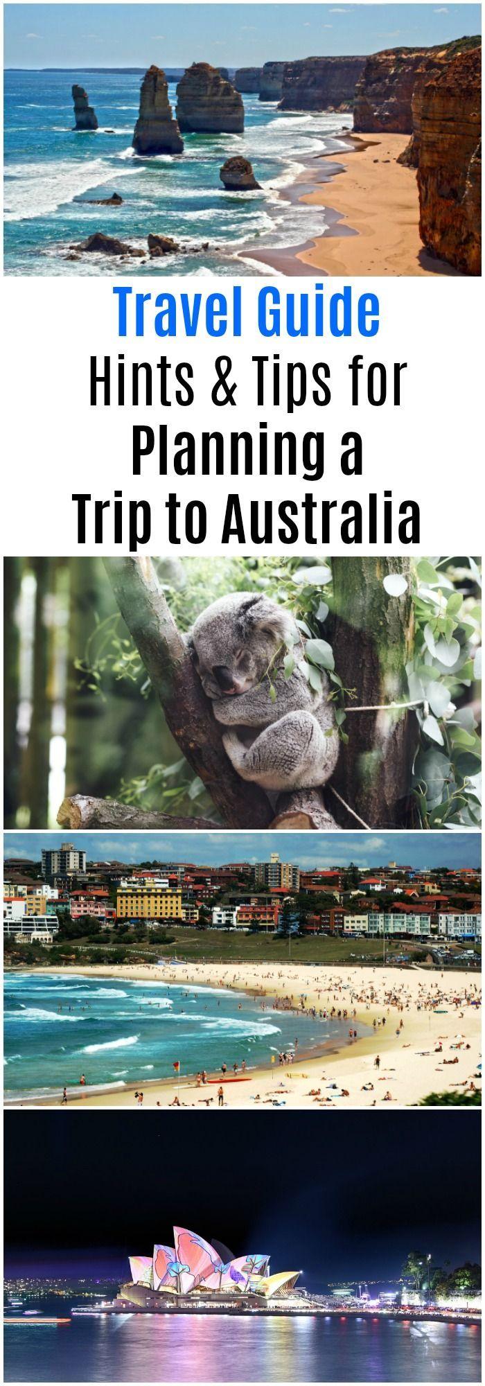 Travel Guide Hints & Tips for Planning a Trip to Australia #Australia #TravelAdvice #TravelTips