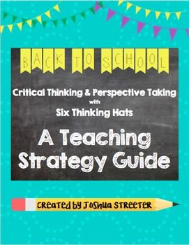 Six Thinking Hats - Critical Thinking and Perspective Taking More