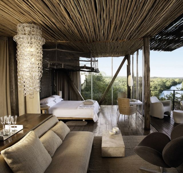 With access to 350,000 acres of private land in the Serengeti, the Singita Game Reserve provides a back-to-basics camp which guarantees closeness to wildlife and untouched landscapes.