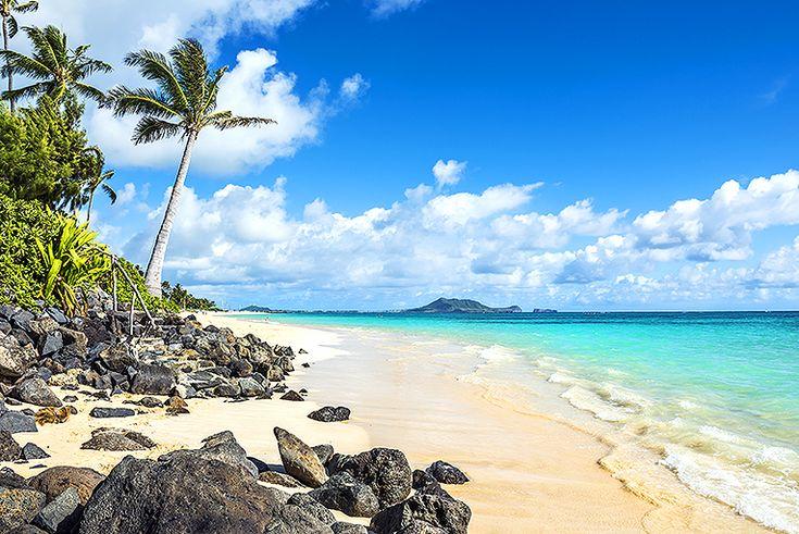 Bli hänförd av Kailua Beach