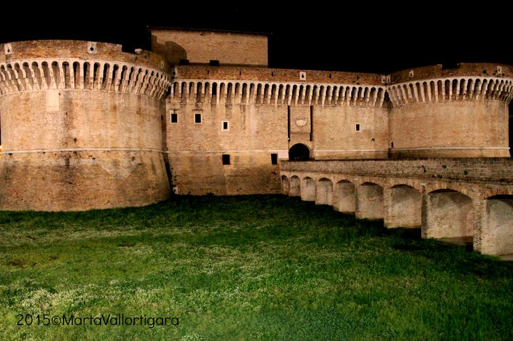 Stronghold in Senigallia - Marche, Italy Photo by Marta Vallortigara  #travelling #photography #tourist