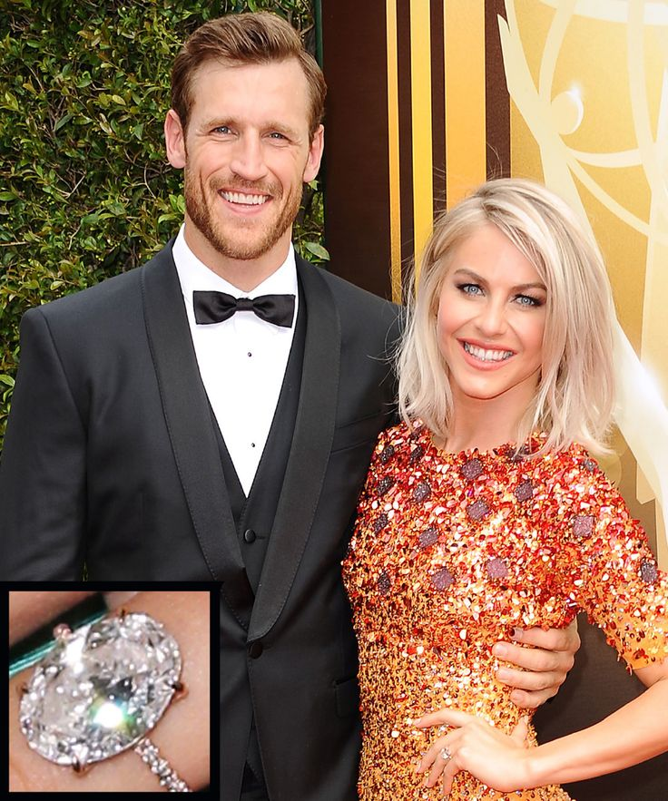 The Most Breathtaking Celebrity Engagement Rings Ever - Julianne Hough and Brooks Laich from InStyle.com