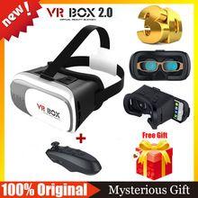 VR 2.0 Версия Google Картон VR Виртуальная Реальность Очки 3D Очки VR Shinecon 3.0 БОБО Z4 + Беспроводная Связь Bluetooth пульт дистанционного управления //Цена: $9 руб. & Бесплатная доставка //  #electronics #гаджеты