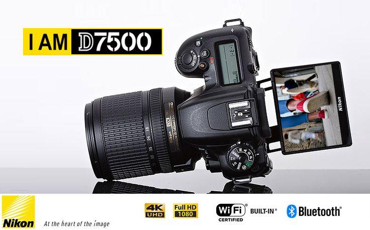 Já conhece a nova Nikon D7500?  Veja em https://goo.gl/xewKHo  #ffotografoshop #nikond7500 #nikon #photography #fotografia