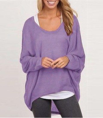 Love this color and comfy style. Very me!!