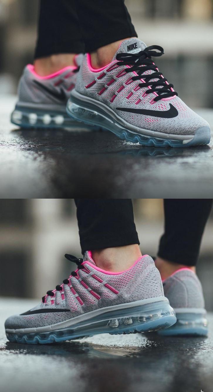 Nike Air Max 2016 Grey And Pink