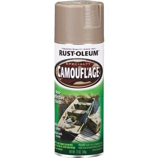 Rust-Oleum Khaki (Green) Camo Spray Paint 1917-830 Unit: Each