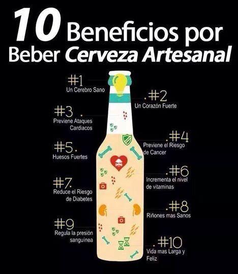 Diez beneficios de la cerveza artesanal