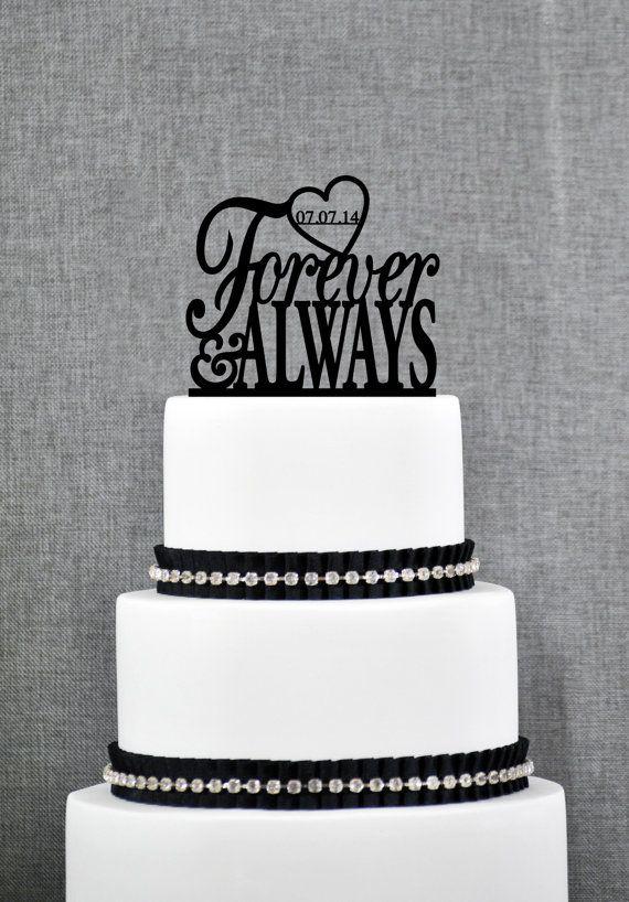 Unique Cake Decor : Best 25+ Unique wedding cake toppers ideas on Pinterest ...
