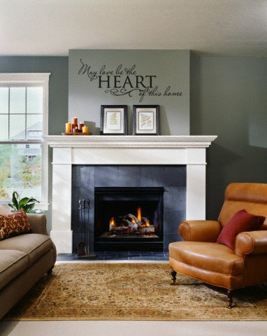 May Love Be The Heart Of This Home Wall Art Decal Vinyl Lettering Decor