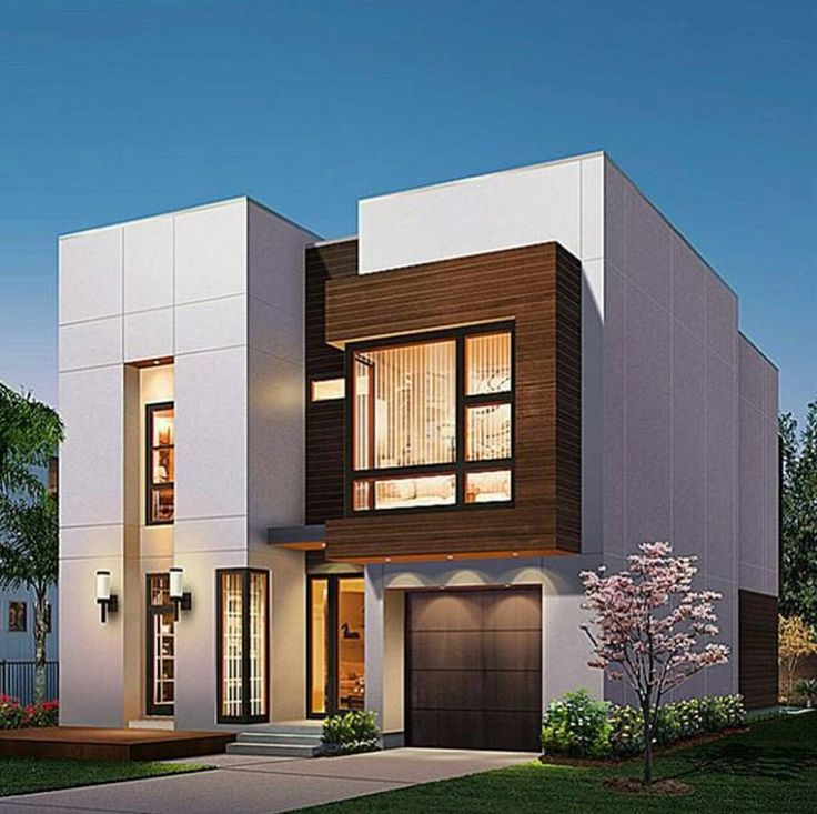 276 best modern house design images on pinterest modern for Modern long house plans