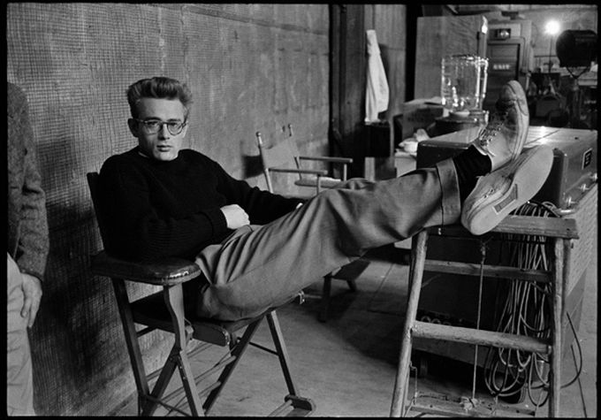 James Dean © Phil Stern  No one is cooler than he is.....